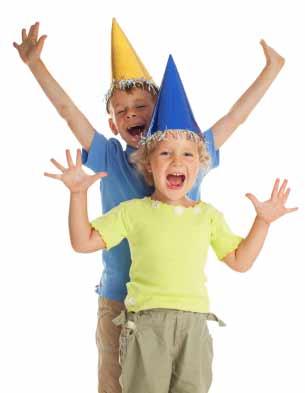 birthday party, kid yoga activity