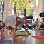 kids yoga camp triangles, Little Loft