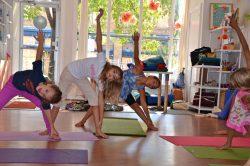 kids yoga camp triangles, Little Loft