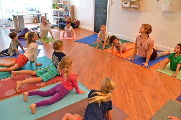 Kids Yoga Camp - Sun Salutations