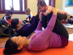 Baby & Me Yoga at Hill Center