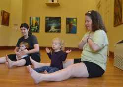 Breathing Space - Tot Yoga Class at Hill Center