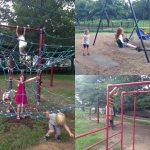 kids on the playground