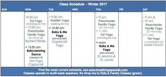 visual class schedule