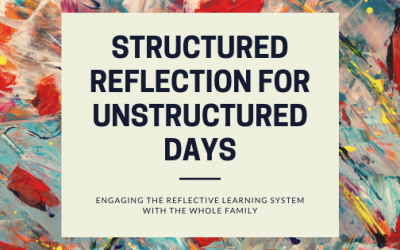 Structured Reflection for Unstructured Days