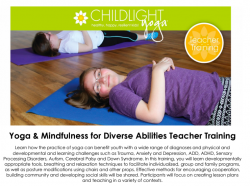 ChildLight Yoga & Mindfulness for Diverse Abilities Teacher Training - September 2020 - Washington, DC @ Hyatt Place