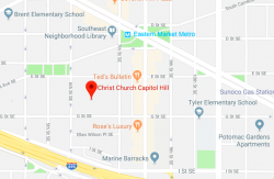Christ Church Google Map image