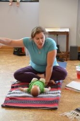Rebecca Gitter instructs Baby & Toddler Yoga Teacher Training