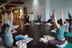 Baby Yoga (newborn-pre-crawling) - Tuesday - Apr-Jun 2017 @ Capitol Hill Yoga