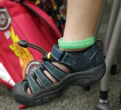 an appropriate shoe