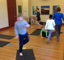Family Yoga Fun!