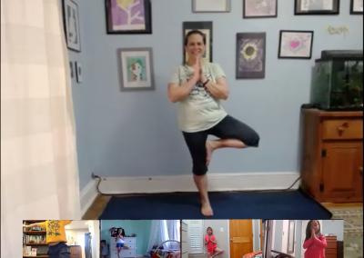 Kids Yoga Camp on Zoom