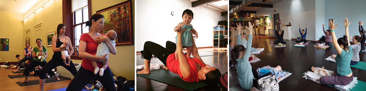 Baby Yoga & Play (precrawlers) @ Lighthouse Yoga Center – April-May 2019 Series – Tuesdays