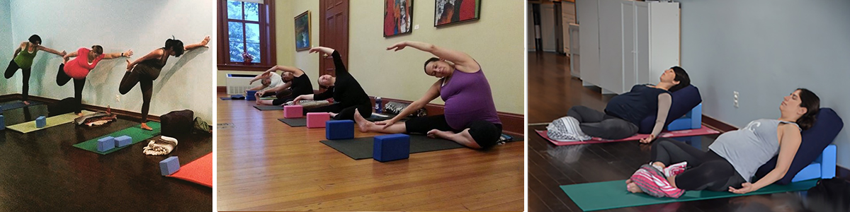 Prenatal Yoga – Jan/Feb 2019 – Thursdays @ Realignment Studio