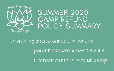 Summer Camp Update: In-person camp cancelled; virtual camp options; refunds to be issued