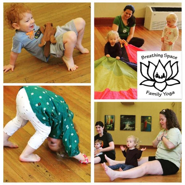 toddlers doing yoga