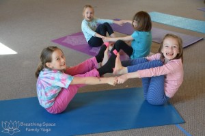 kids yoga, camp