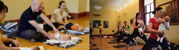 Baby Yoga & Play (precrawlers) Pop-Up Class – Mar 2019 – Sun @ Hill Center