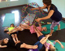 kids yoga breathing excercise
