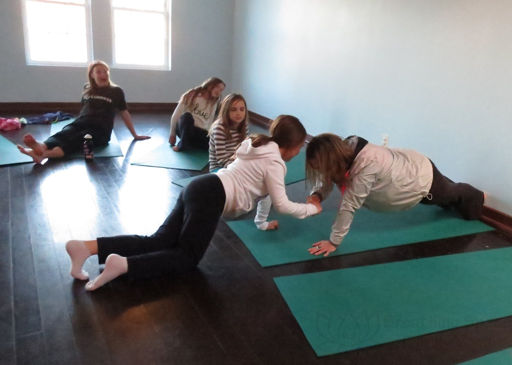 Family Yoga for Big Kids Winter 2019