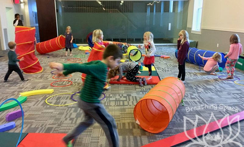 Spaciousness through Freeplay at Yoga Camp