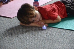 kids yoga, rest