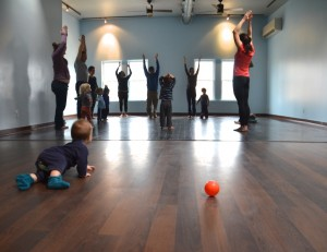 toddler family yoga