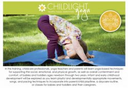 ChildLight Yoga for Babies & Toddlers Teacher Training - Nov 2019 - Columbia MD @ Yoga Center of Columbia