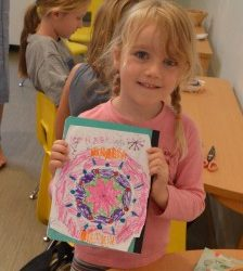Coloring in Yoga Class: What is a Mandala?