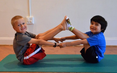 yoga at fairview elementary  breathing space