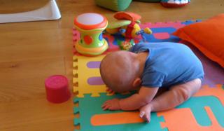 baby forward fold