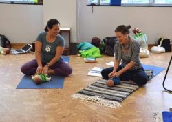 Jen instructs Baby & Toddler Teacher Training