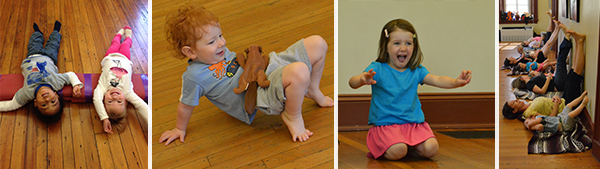 Little Family Yoga (21 mo-4 yrs) Pop Up Class @ Lighthouse Yoga Center – July 2019