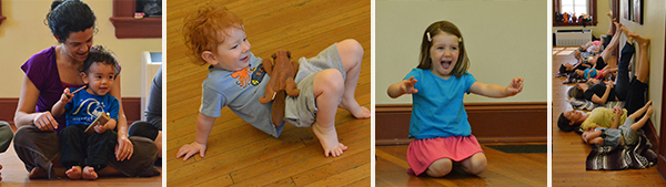 Little Family Yoga (21 mo-4 yrs) Series @ Hill Center – Sundays – Spring 2019