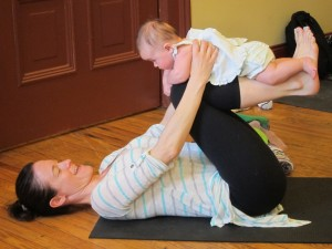 Baby & Me Yoga, Fri @ Realignment Studio, Jan-Feb 2018 @ Realignment Studio (Lower Level) | Washington | District of Columbia | United States