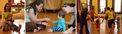 Tot Yoga (crawling-24 months) - Sept-Dec 2018 - Wednesdays @ Shenanigans @ Shenanigans Art Space | Washington | District of Columbia | United States