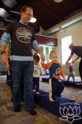 balancing preschoolers