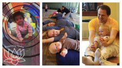 Toddler Family Yoga (walking-3 yrs) @ The Hill Center - Fall 2019 - Sunday @ The Hill Center